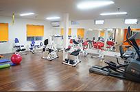 トレーニング施設風景