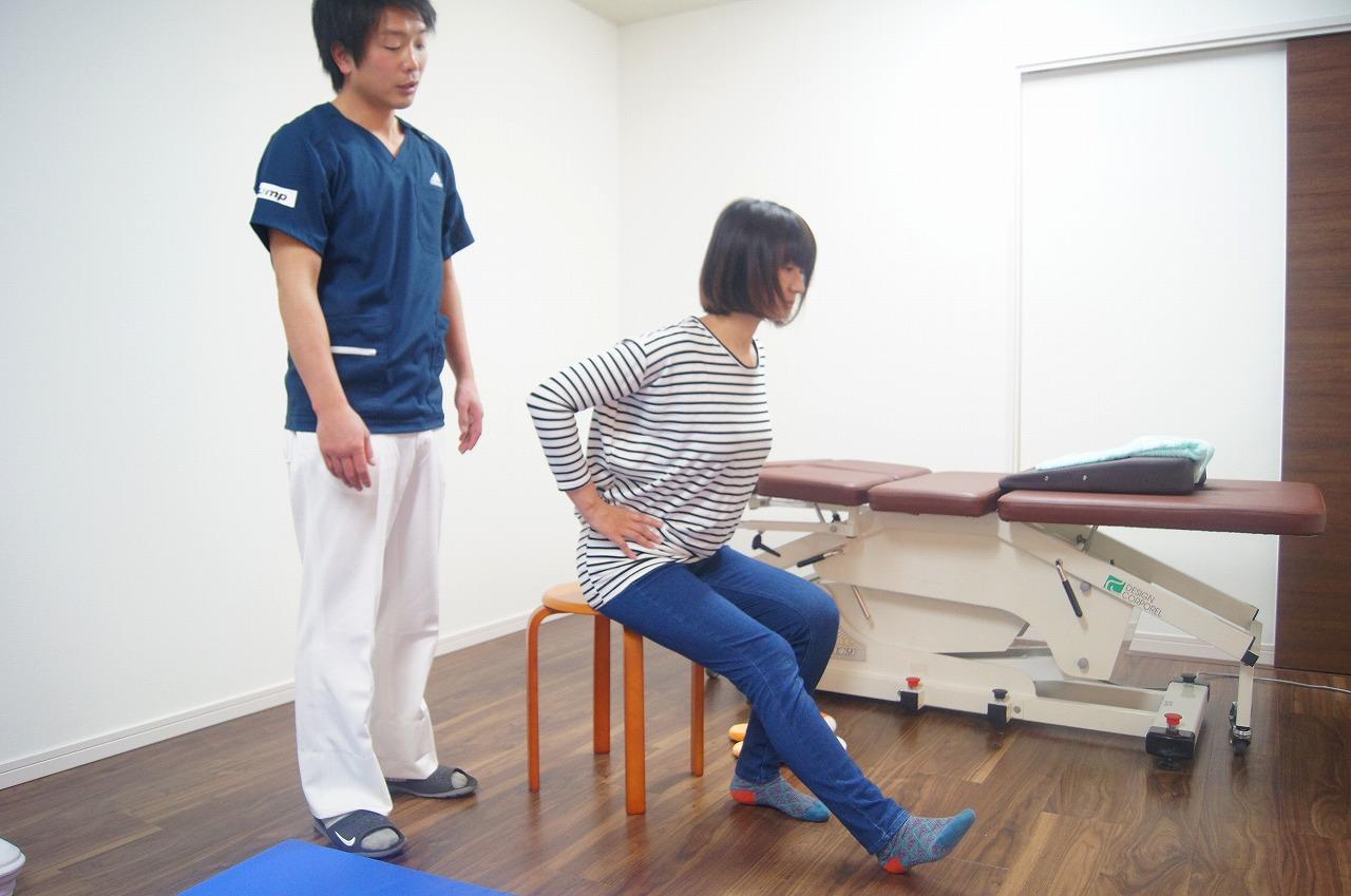 股関節周りの筋肉の柔軟性向上