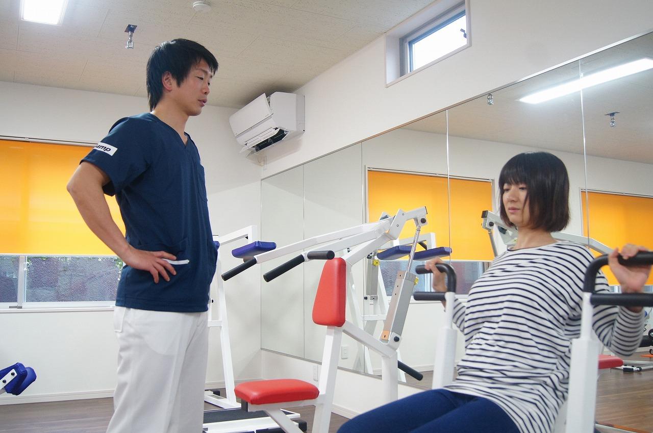 腹筋群のトレーニング