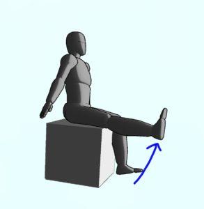 整体ストレッチ 大腿四頭筋3