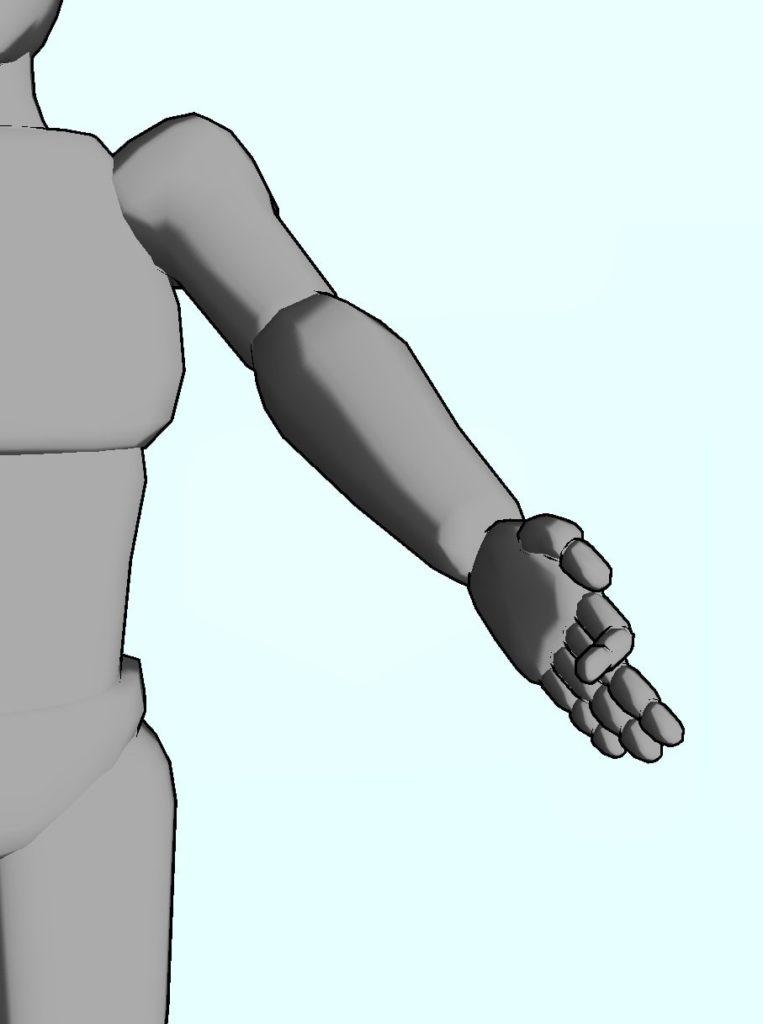 整体ストレッチ 手の指6