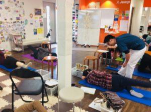 草津市Jump股関節痛体操教室3