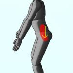 整体ストレッチ 腸腰筋1
