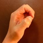 整体ストレッチ 手の指3