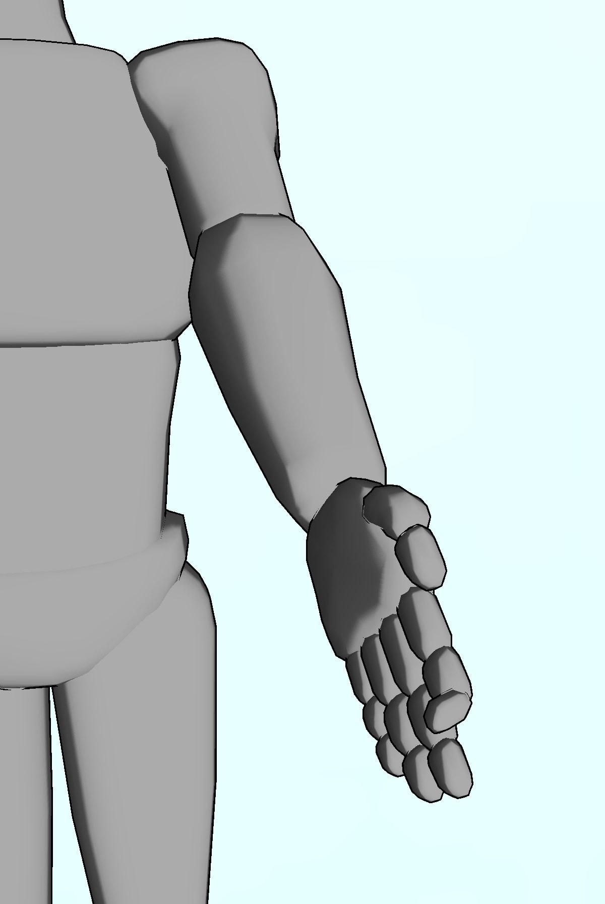 整体ストレッチ 手の指5