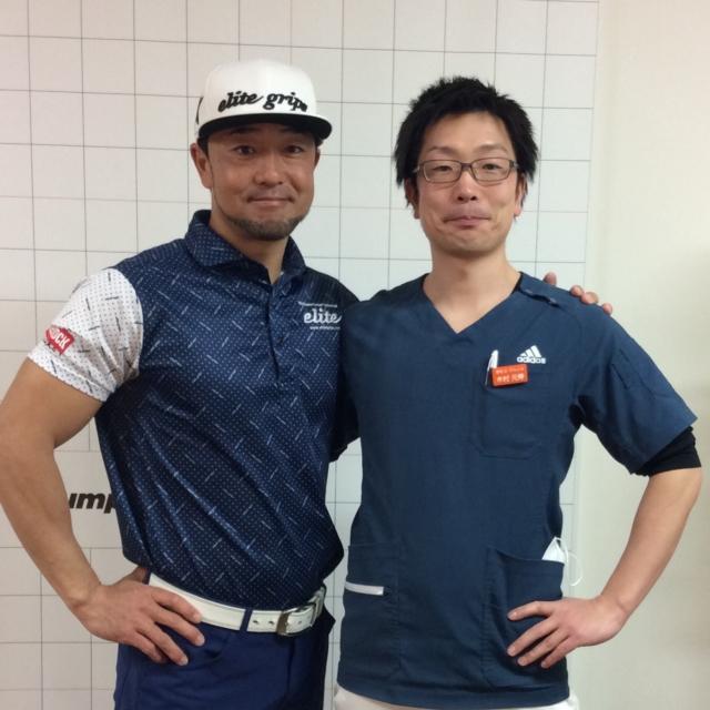 スポーツ整体 プロゴルファー2